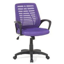 Beliani Krzesło biurowe fioletowe - meble biurowe - fotel komputerowy - mayor