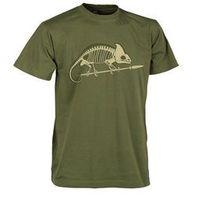 Helikon-tex / polska T-shirt helikon szkielet kameleona us green (ts-skc-co-29)