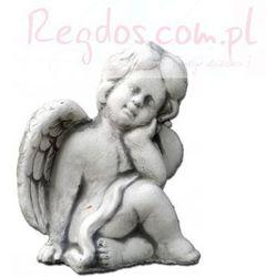 Figura ogrodowa betonowa aniołek 12cm