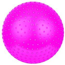Piłka do masażu SAGGIO FIT śr.65 cm + pompka Spokey (różowa) - oferta [3545267837f1e7e0]