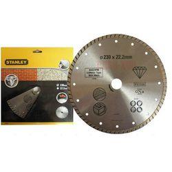 tarcza diamentowa turbo 230 x 22,2 mm, marki Stanley