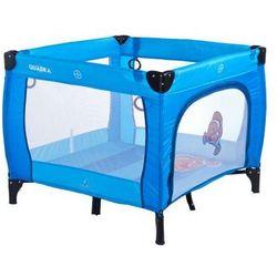Caretero kojec Quadra dla dzieci niebieski blue z kategorii Kojce