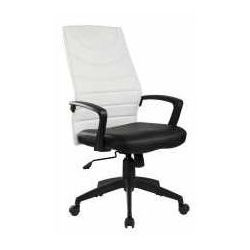 Halmar Fotel sammy czarno-biały - zadzwoń i złap rabat do -10%! telefon: 601-892-200