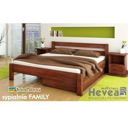 Łóżko sosnowe  family 200x140 od producenta Hevea