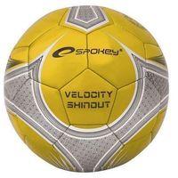 Piłka nożna Spokey Velocity spear czarno-złota 835915