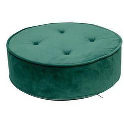 Pufa Lona Velvet zielona - zielony, 175747 (12875138)