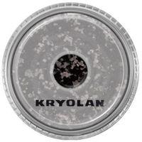 Kryolan  polyester glimmer coarse (black) gruby sypki brokat - black (2901)