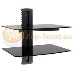 Półka Szklana Stolik podwójna pod RTV DVD Tuner DVD-212 Signal (półka RTV)