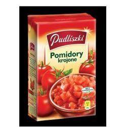 Pomidory krojone 400 g Pudliszki - produkt z kategorii- Przetwory warzywne i owocowe