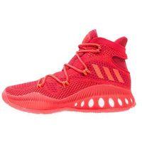 adidas Performance CRAZY EXPLOSIVE PRIMEKNIT Obuwie do koszykówki red solid/scarlet/core black