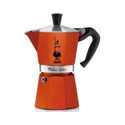 Bialetti kawiarka Moka Colour 6 tz pomarańczowa