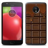 Fantastic Case - Motorola Moto E4 - etui na telefon Fantastic Case - tabliczka czekolady