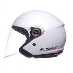 KASK OTWARTY LS2 OF569.7 ROCK Biały CHOPPER - produkt z kategorii- kaski motocyklowe