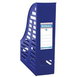 Pojemnik ażurowy na dokumenty DONAU, PP, A4, składany, niebieski