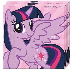 Serwetki urodzinowe My Little Pony Rainbow - 33 cm - 20 szt.