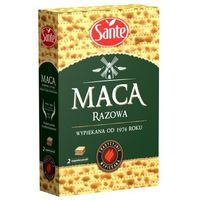 Maca pszenna razowa 180 g marki Sante