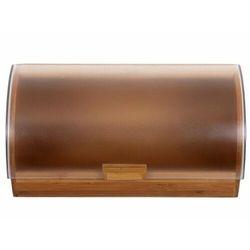 AMBITION Chlebak drewniany Gordon z plastikową pokrywą 39 x 28 x 18,5 68920