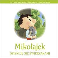 Mikołajek, Opiekuję się zwierzakami - Opracowanie zbiorowe (128 str.)
