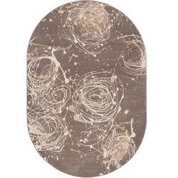 Dywan alabaster kianta w grafit (owal) 160x240 marki Agnella