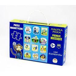 Puzzle magnetyczne miesiące marki Maka kids