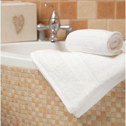 Dekoria Ręcznik Evora biały, 70 × 140