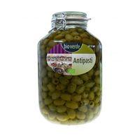 Oliwki zielone bez pestki z ziołami w oleju BIO 3,1 kg - BIO (4000915103816)
