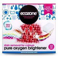 Ekologiczny Odplamiacz do Kolorów Pure Oxygen, 12 tabletek, ECOZONE, ECO2312