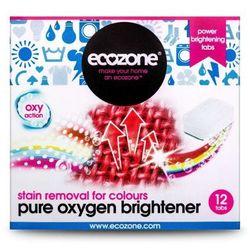 Ekologiczny Odplamiacz do Kolorów Pure Oxygen, 12 tabletek, ECOZONE - produkt z kategorii- wybielacze i odpla