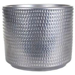 Osłonka doniczki Cermax Calla cylinder 14 cm chrom (4013738113962)