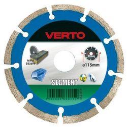 Tarcza do cięcia VERTO 61H2S1 115 x 22.2 diamentowa segmentowa (5902062660152)