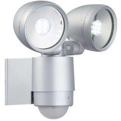34105-2s - led lampa zewnętrzna z czujnikiem ruchu radiator ii 2xled/3w/230v marki Globo