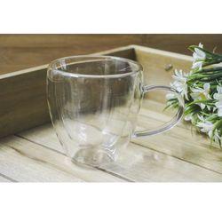 Giardino / home-akcesoria kuchenne Giardino home kubek szklany z podwonymi ściankami 180 ml
