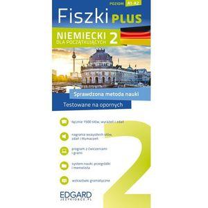Niemiecki Fiszki PLUS dloa początkujących 2, oprawa kartonowa