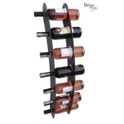 Briso-design Wieszak na wino łuk na 7 by