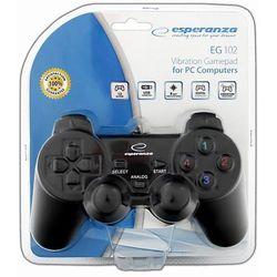 GamePad / kontroler Esperanza Vibration EG102 Warrior z kategorii gamepady