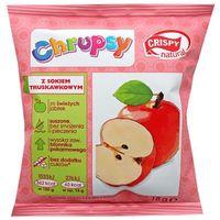 CRISPY NATURAL 18g Chrupsy Suszone chipsy z jabłka z sokiem truskawkowym