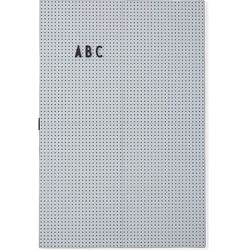 Tablica Design Letters A3 jasnoszara, 20203300-lightgrey