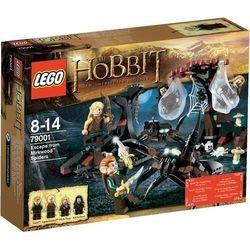 The Hobbit UCIECZKA PRZED PAJąKAMI 79001 marki Lego [zabawka]