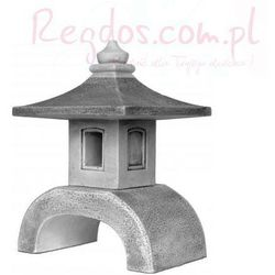 Lampa betonowa ogrodowa, wzór lampa z nóżką 53cm