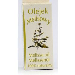 Olejek zapachowy naturalny melisa 7 ml, marki Bamer