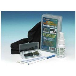 707001 zestaw optical wysokiej jakości do czyszczenia optyki, marki Kinetronics