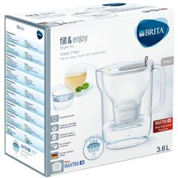 BRITA 3,6l Style XL Dzbanek filtrujący Szary + 1 wkład filtrujący Maxtra+