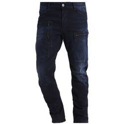 GStar POWEL 3D TAPERED JEANS Jeansy Zwężane siro black stretch denim