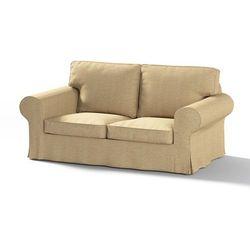 pokrowiec na sofę ektorp 2-osobową, nierozkładaną, beżowy szenil, sofa ektorp 2-osobowa, living marki Dekoria