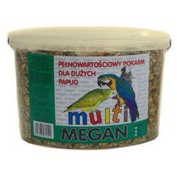 pokarm dla dużych papug 3l marki Megan