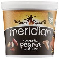 natural peanut butter smooth 100% 1000g marki Meridian
