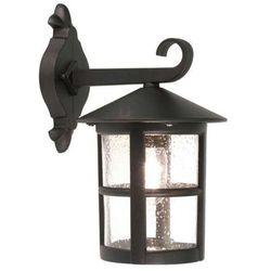 Zewnętrzna LAMPA ścienna HEREFORD BL21/G Elstead KINKIET metalowa OPRAWA ogrodowa IP43 outdoor czarny - produkt z kategorii- Lampy ogrodowe