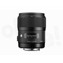 a 35 mm f/1.4 dg hsm canon - produkt w magazynie - szybka wysyłka!, marki Sigma