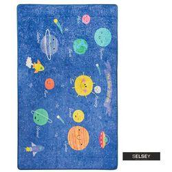 dywan do pokoju dziecięcego dinkley kosmos 140x190 cm marki Selsey