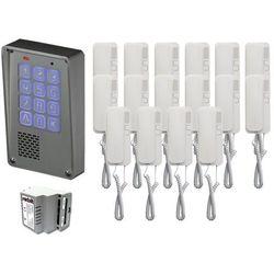 Zestaw 16-rodzinny Radbit Cyfrowy panel domofonowy wielorodzinny z szyfratorem KEC-4 NT MINI GD36, ZR12356